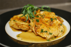 Sauteed Chicken Breastes in Tarragon
