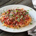 Spaghetti and Tomato Sauce