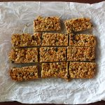 Granola Bars with Coconut, Currants and Almonds