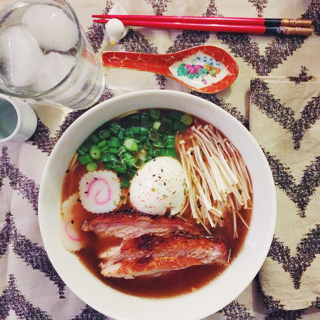 Still thinking about the incredible homemade ramen I had this…