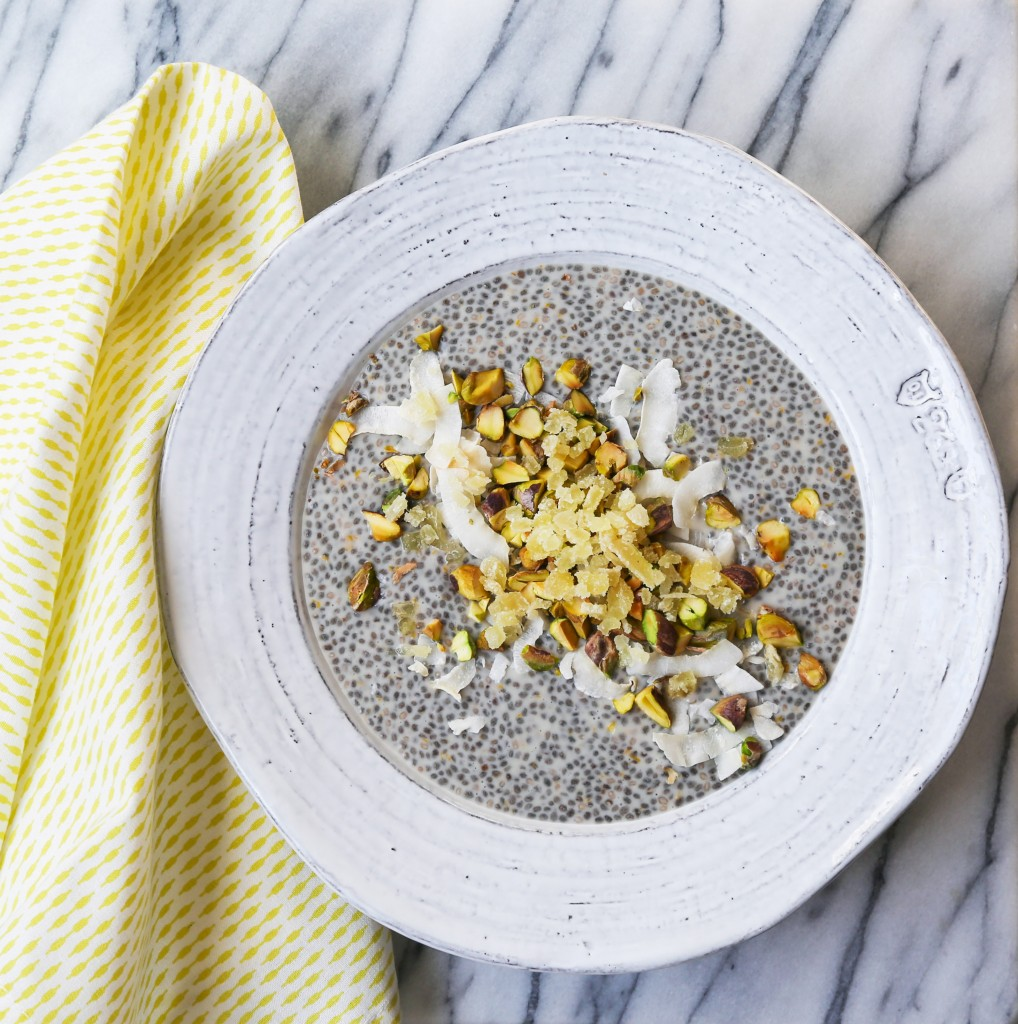 Meyer Lemon Chia Pudding