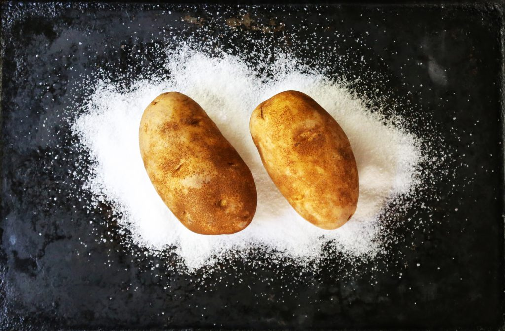 Potatoes on Salt
