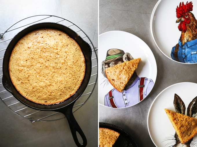 Brown Butter Snacking Cake