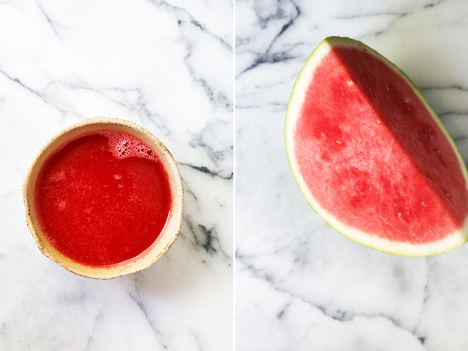 Pink Watermelon Puree