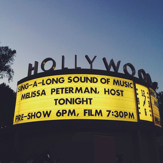 Sound of Music sing-a-long tonight with @motoridersd!! ????