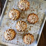 Fig Cakes with Vanilla Glaze
