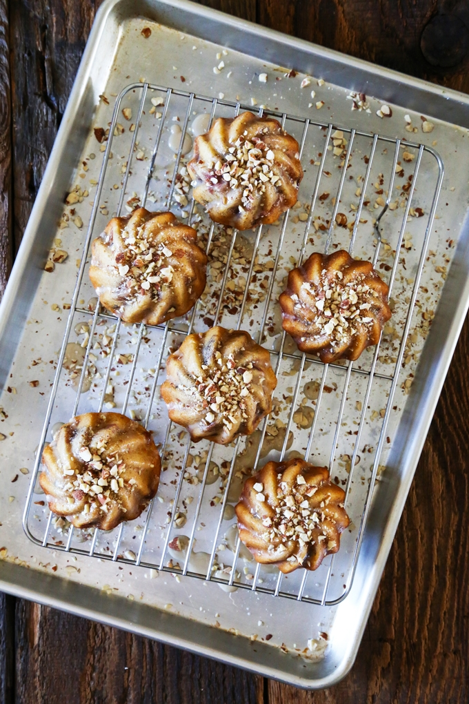 Fig Cakes with Vanilla Glaze