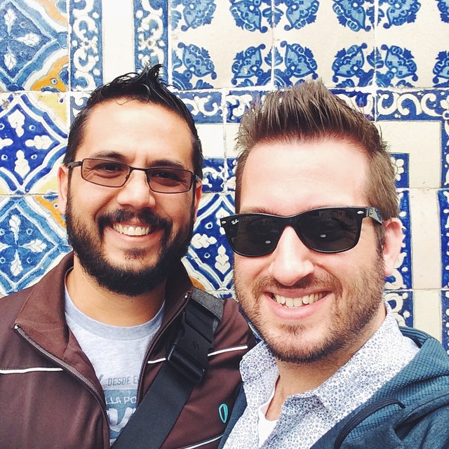 ¡Hola! from downtown Mexico City. PS. I want to take all the pretty tiles home with me. All of them.