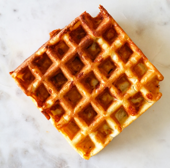 how to make waffle batter thicker