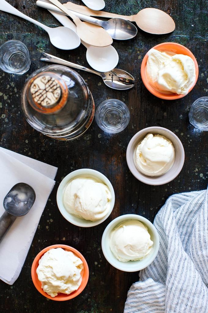 Vanilla Mezacal Ice Cream
