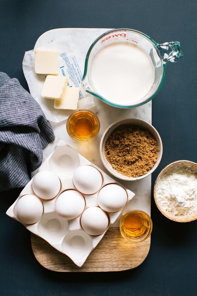 Butterscotch Budino Ingredients