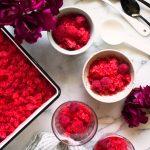 Raspberry Elderflower Granita Recipe