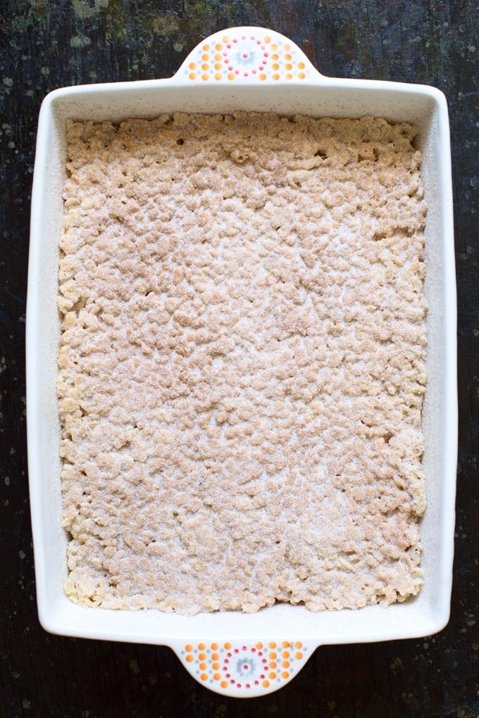 Churro Rice Krispie Treats