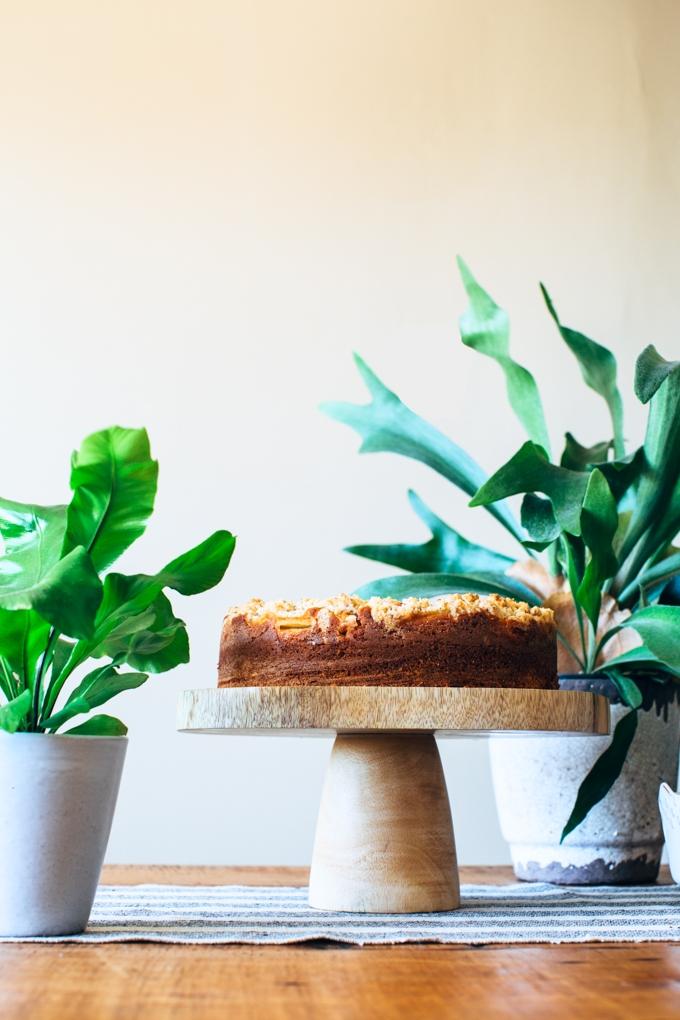 Nectarine Coffee Cake