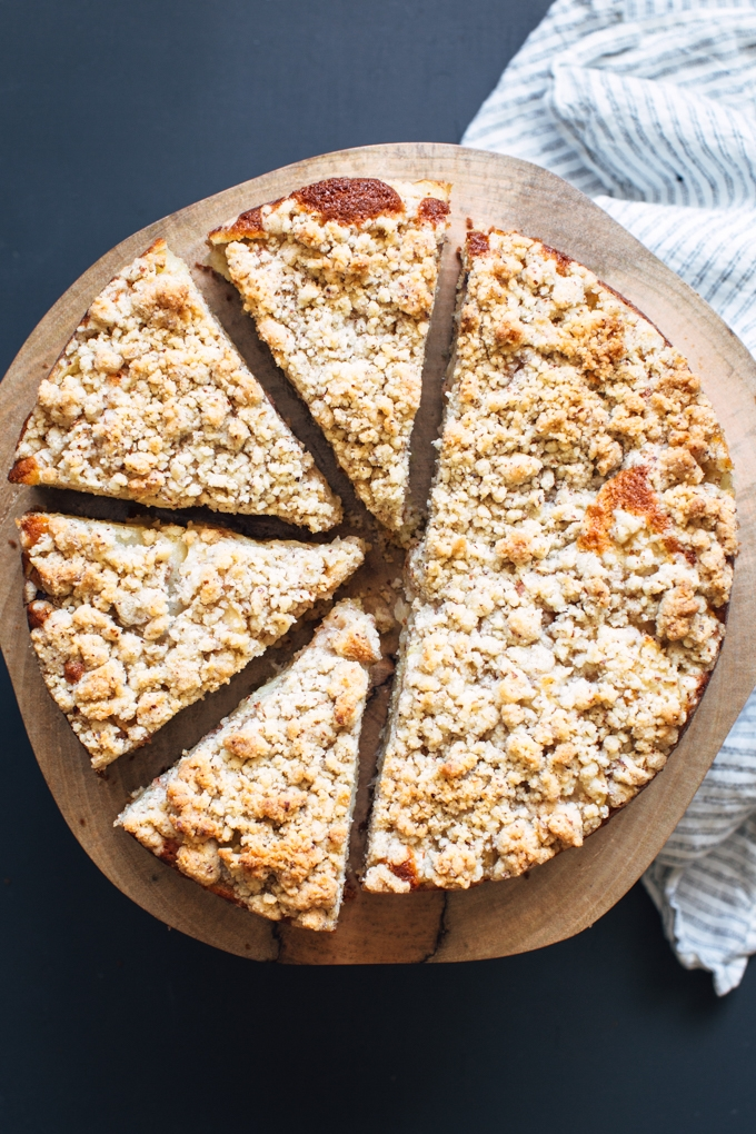Nectarine Coffee Cake