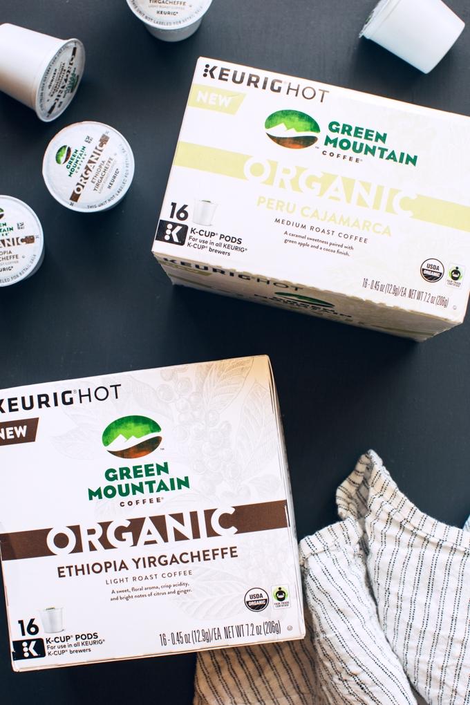 Green Mountain Coffee Organic Blends
