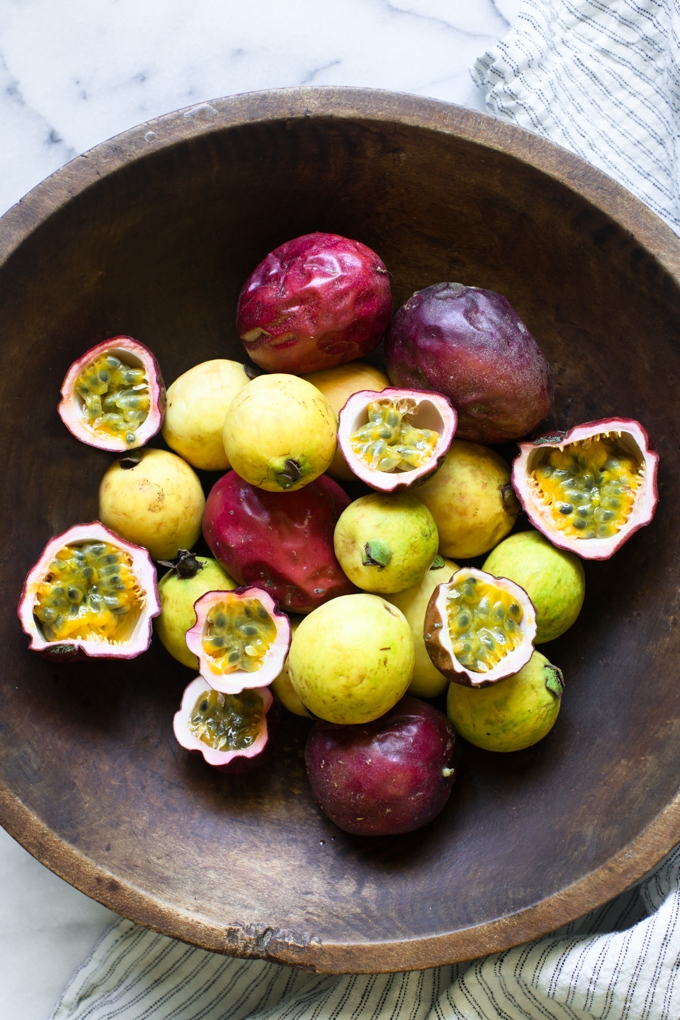 Guavas and Passion Fruit