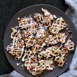 Salted Pretzel Peppermint Bark Recipe