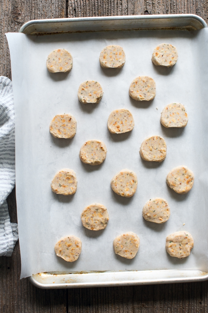 Rosemary Toasted Hazelnut Shortbread Cookies Recipe