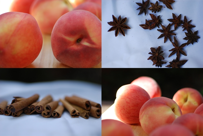 Peaches and spices