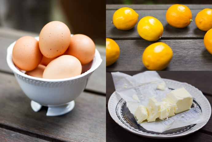 Meyer Lemons, Eggs and Butter