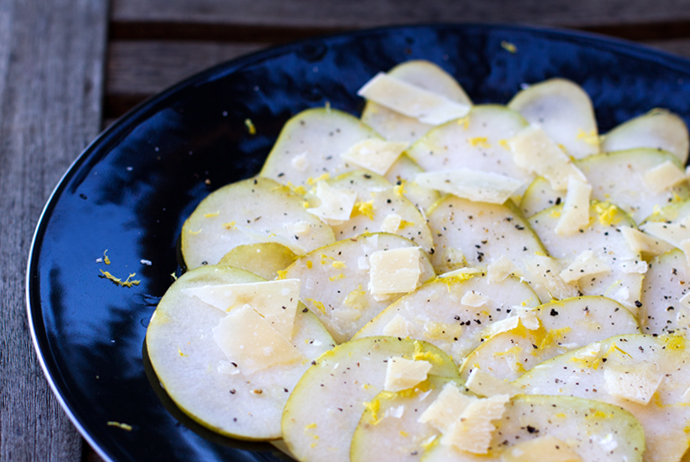 Pear Carpaccio