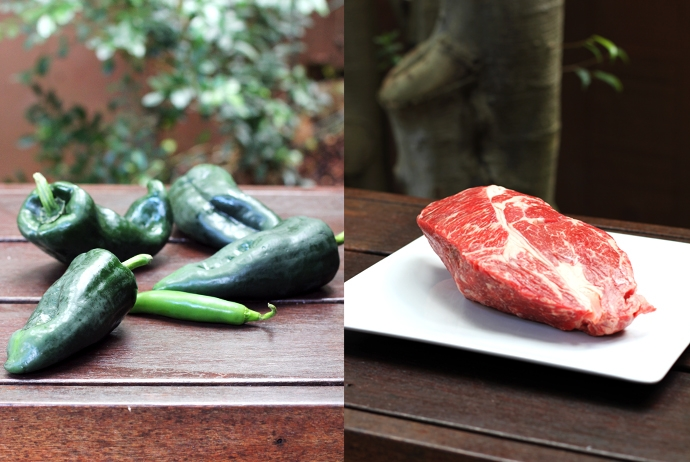 Beef and Chiles