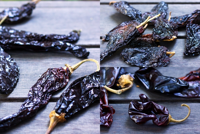 Pasilla, Ancho and New Mexican Chiles
