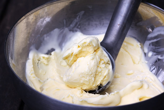 Goat Cheese Ice Cream