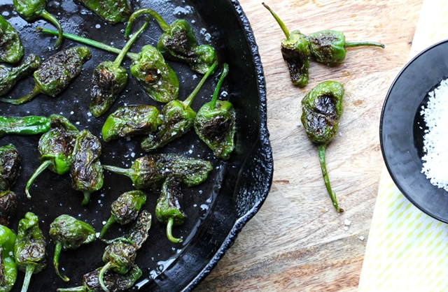 Spanish-Style Padron Peppers