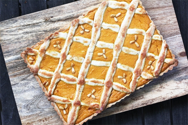 ... pumpkin and ricotta crostata goat cheese ricotta crostata