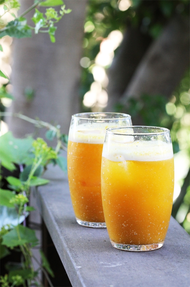 Pumpkin and Apple Cider Fizz
