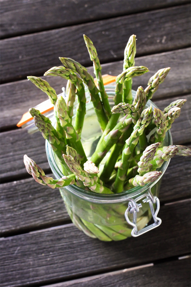 Revived Asparagus