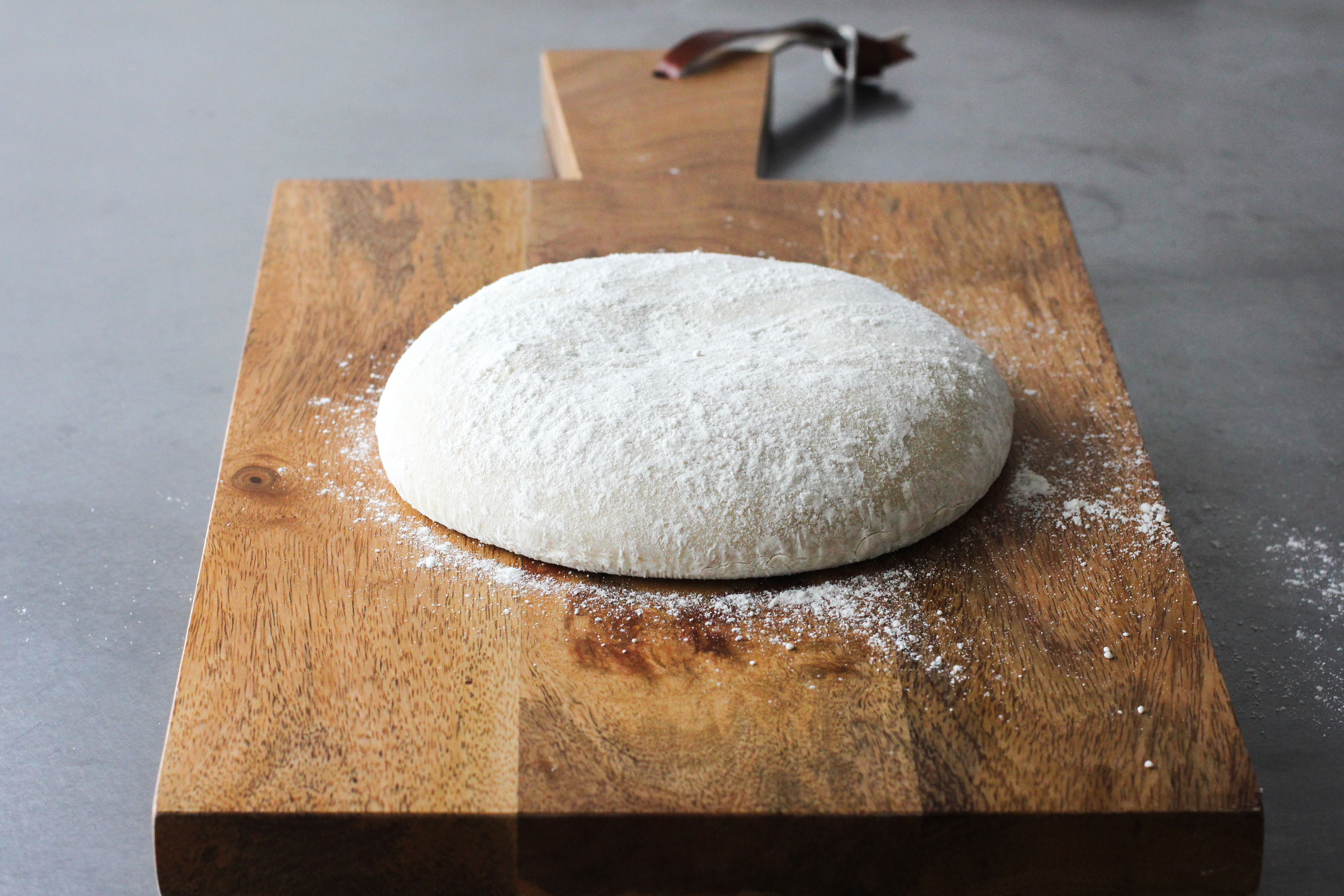 always buy my pizza dough from a local pizzeria. Cheap, easy and so ...