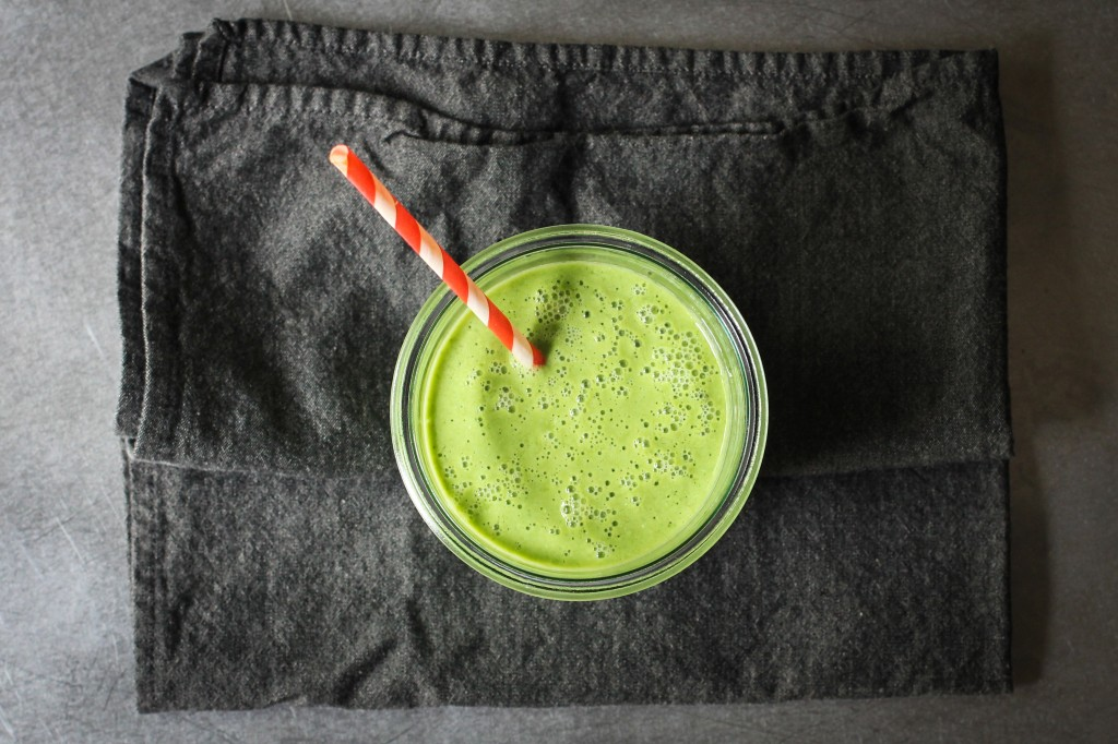 Pear and Arugula Smoothie