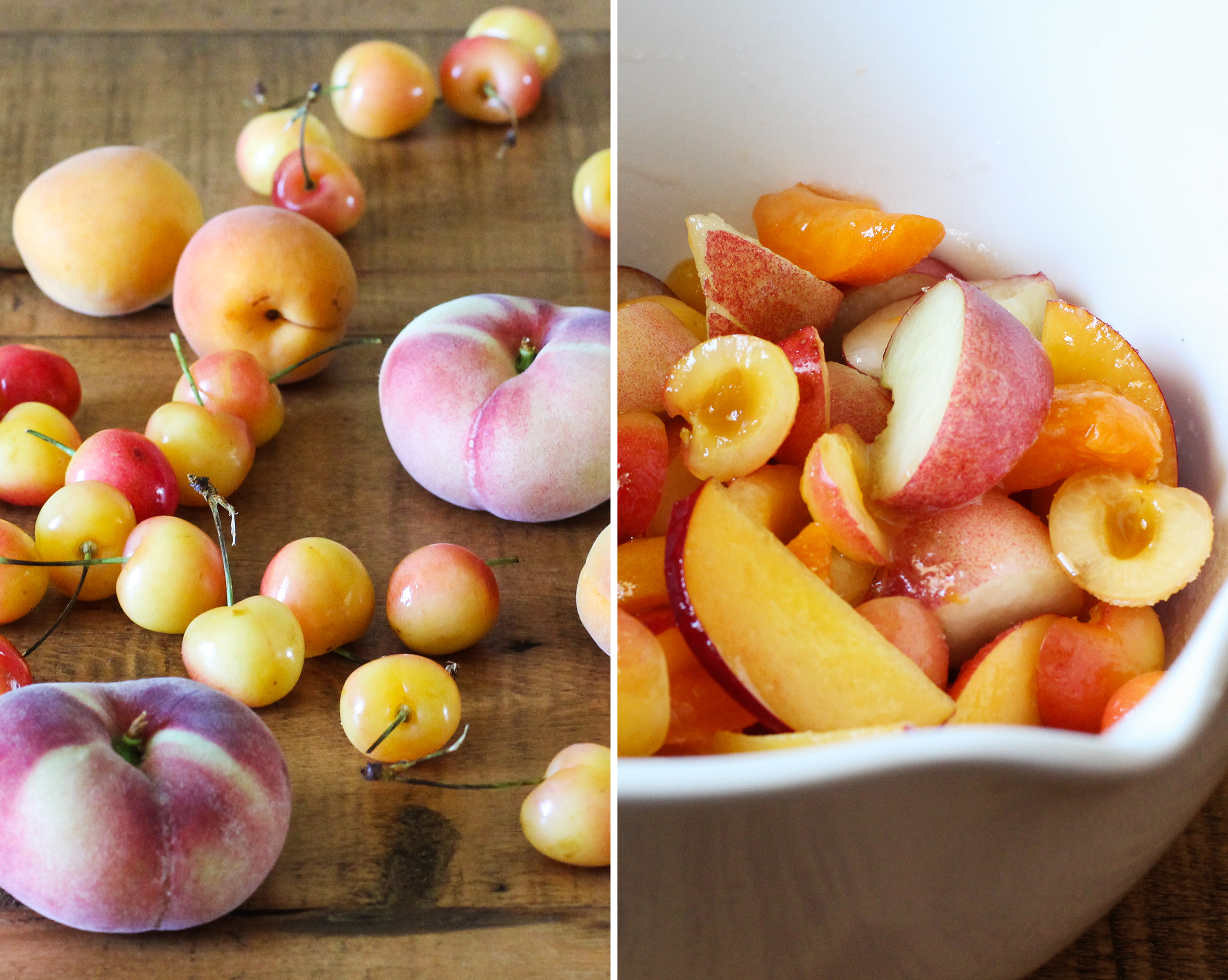 Stone Fruit Galette with Ginger and Vanilla