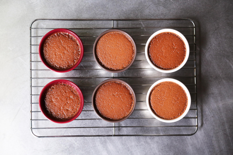 Chocolate Peppermint Crème Brûlée