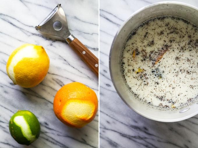 compote infused in grapefruit greek yogurt citrus salad with ginger ...