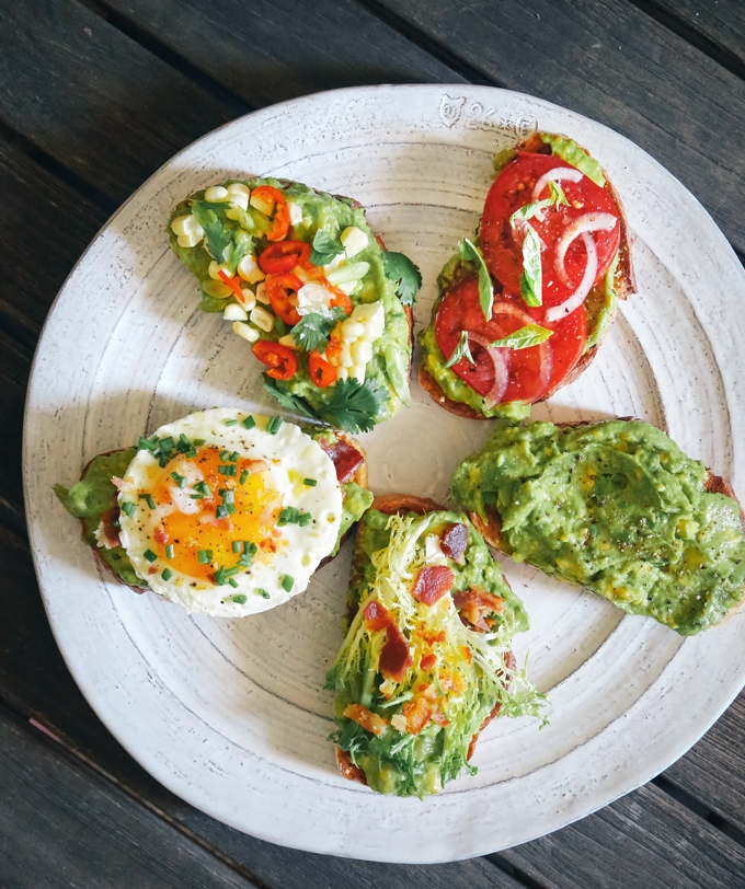 avocado toast the concept is fairly simple mash up half an avocado ...