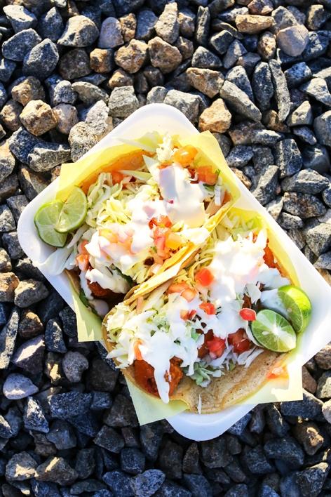 Mariscos Alex Food Truck Fish Tacos