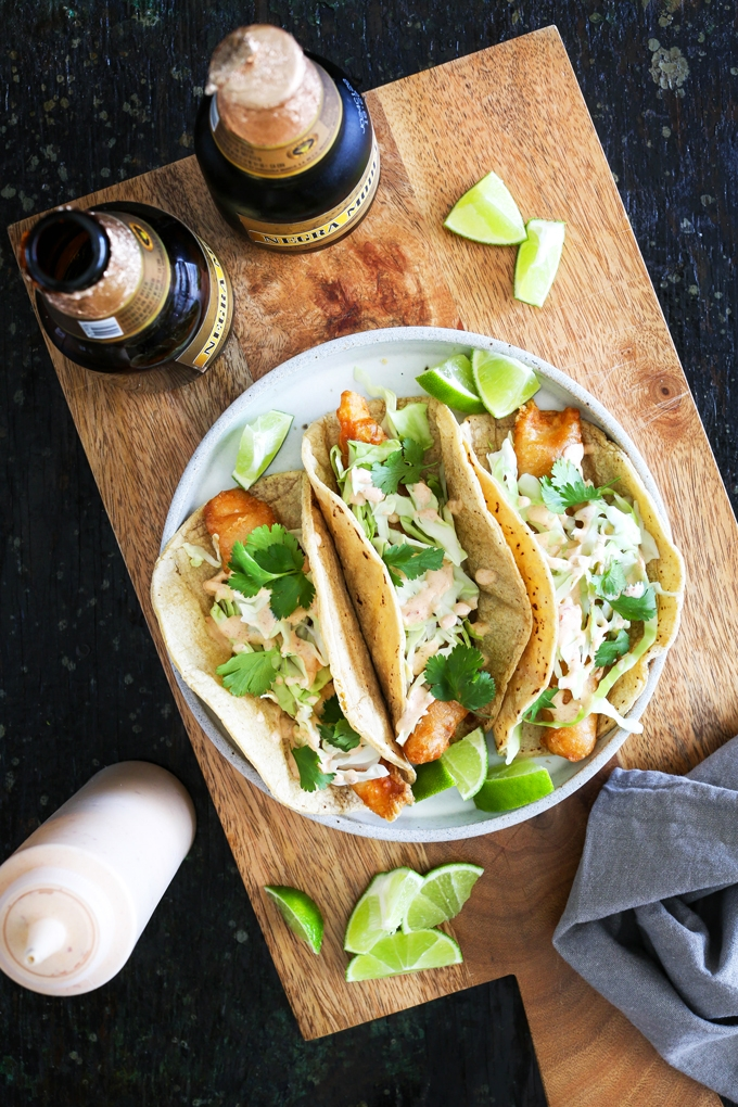 Crispy fish taco recipe the best fish taco in san diego for Crema for fish tacos