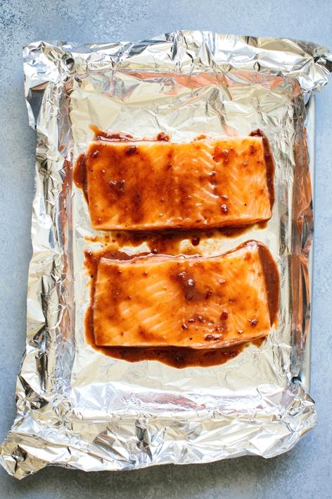 Salmon with Glaze
