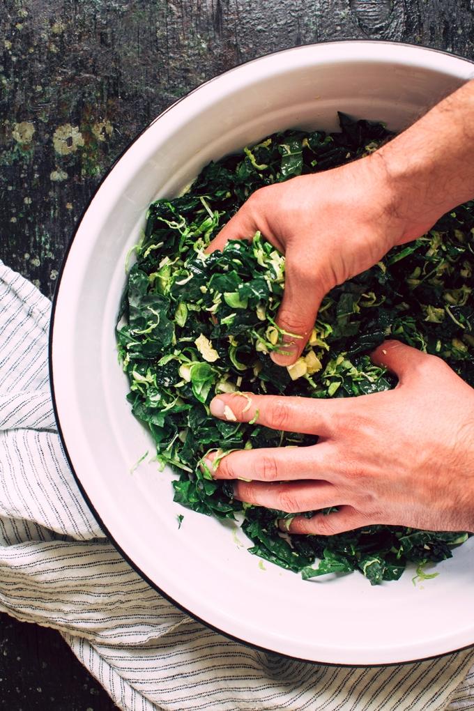 Salad Massage