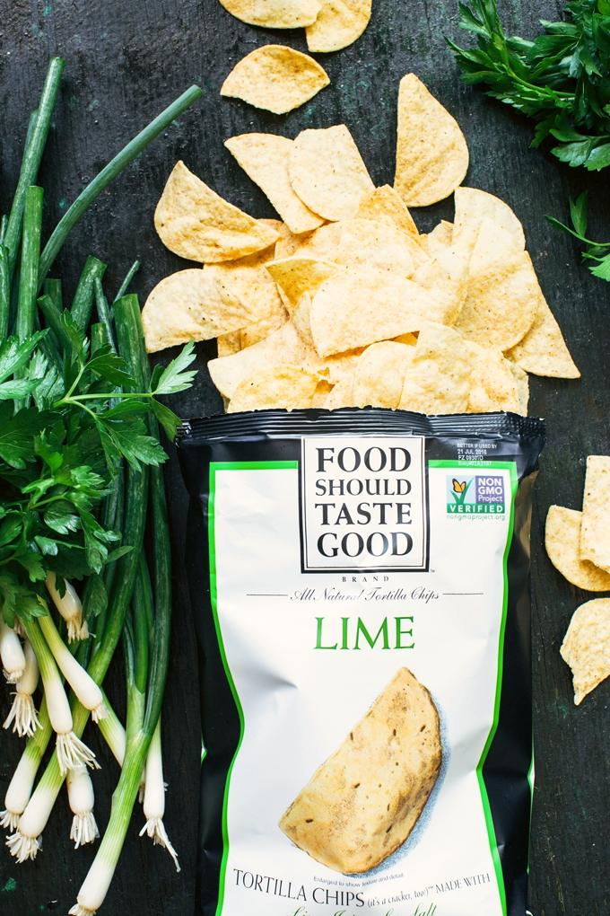 Food Should Taste Good Lime Tortilla Chips