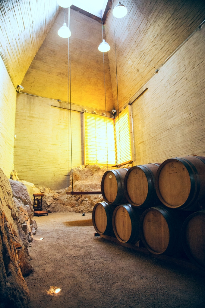 Clos de Tres Barrel Room