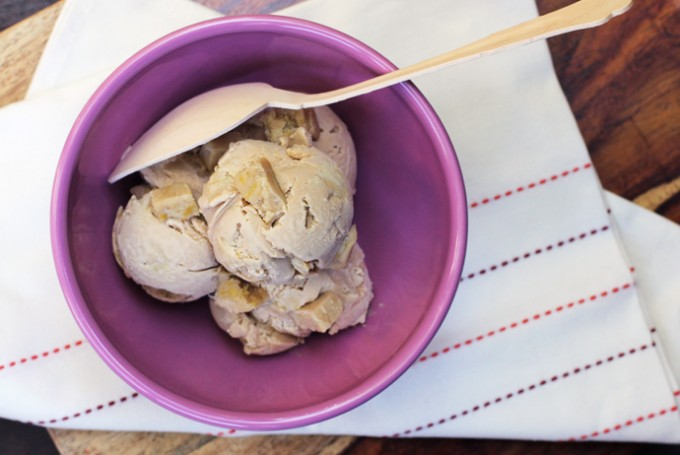 Earl Grey and Lemon Cookie Dough Ice Cream