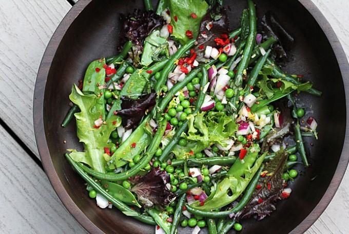 Green Bean Salad with Mustard Seeds and Tarragon