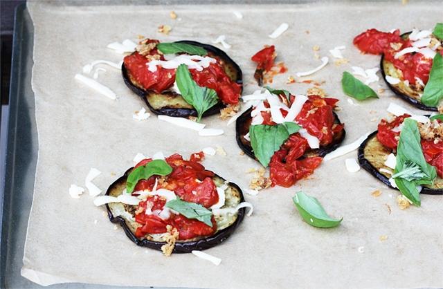 Deconstructed Eggplant Parmesan