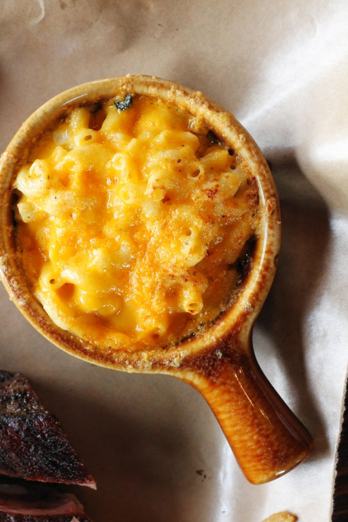 Brazen BBQ Macaroni and Cheese