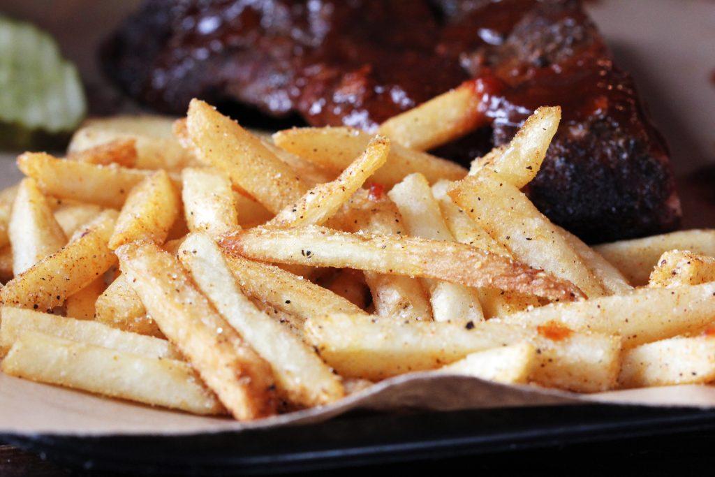 Brazen BBQ Fries.